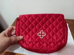 Bolsa lateral Metalasse Vermelha Capodarte