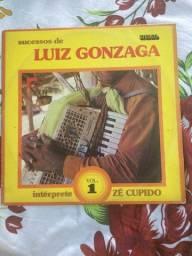 Lp Vinil Zé Cupido Interpreta Sucessos De Luiz Gonzaga Vol.1 1983