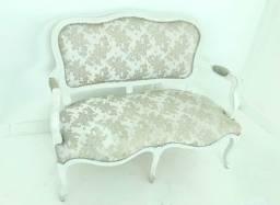 Sofá cadeira namoradeira Luiz xv
