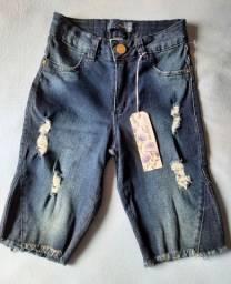 Calção Jeans Mokkai
