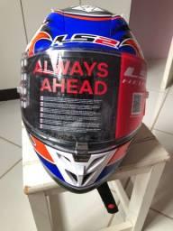 Vendo capacete ls2 arrow praticamente novo