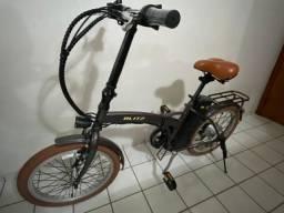Bicicleta Elétrica Blitz Free Dobrável Aro 20 - Câmbio Shimano - 6M - Lítio 350W