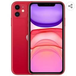 Iphone 11 Apple 64 GB red novo lacrado com nota fiscal