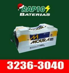 Baterias 150 amperes - frete grátis
