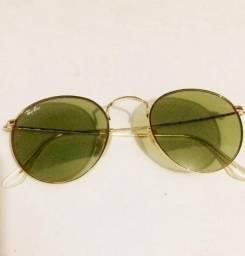 76ff6dec1a48d Óculos de sol Ray-Ban aviador redondo