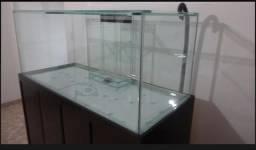 Vidros para aquário 1.55X60x70 e 10 mm de espessura