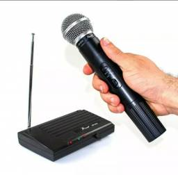 Microfone sem fio KP-910 UHF