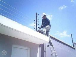 Cerca elétrica industrial 6 fios