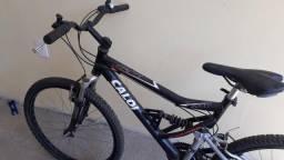Bicicleta Caloi SK 21V Aluminium - Full Suspension