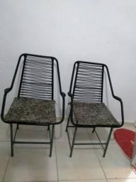 Vendo essas cadeiras semi novas