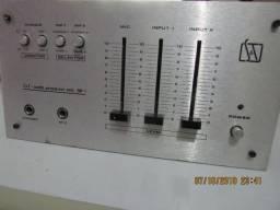 Mesa de som mixer