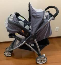 Carrinho Chicco Viaro + bebê conforto com KeyFit 30 com ISOFIX