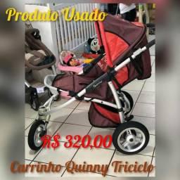 Carrinho Triciclo Quinny - Produto Usado Lindissimo