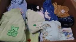 Lote de roupas para bebe menino