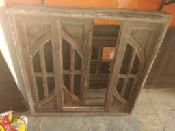 Porta e janelas angelim pedra