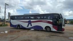 Ónibus Scania marcopolo 124 360 placa de Goiânia