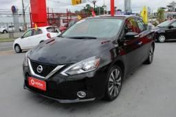 Nissan Sentra 2.0 SV automatico, couro, revisado + docs + trans. gratis - 2018