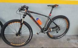 Bicicleta 29 alívio trava suspensão