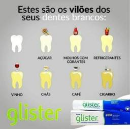 Creme dental  glister  O menhor creme dental do mundo