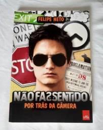 Livro Não faz sentido (Por trás da câmera)-Felipe Neto