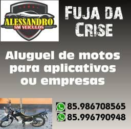 Locação de Motos Aluguel