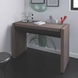 Escrivaninha Artany modelo Mille cor avela com preto