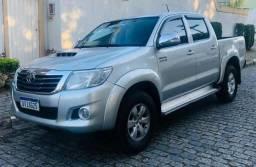 Toyota hilux 3.0 srv 4x4 automática 2013 - 2013