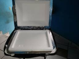 Vendo bolsa mochila para entregar lanches e pizzas de 35 cm (produto novo)