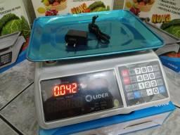 Promoção! Balança Digital 40 Kg com Bateria Interna. Alta Precisão. 3 Meses de Garantia.