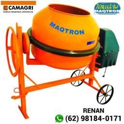 Betoneira Maqtron m-400 L c/ Motor Weg 2CV