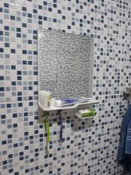 Espelho banheiro com suporte