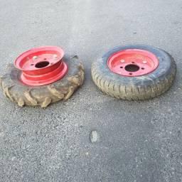 1 Par de rodas de tobata.