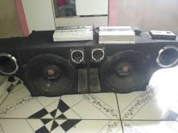 Caixa de som completa JBL