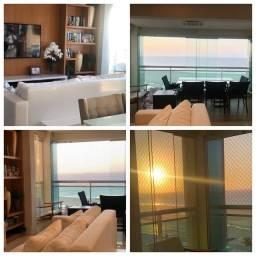 Apartamento com 136 m2, 3 suítes, vista mar, fino acabamento em Península- São Luís - MA