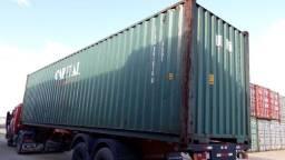 Container HC 40 pés estado natural diretamente do terminal portuário