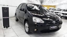 Toyota Etios XS 1.5 Sedan 2014 Preto Completo Super Novo Doc OK