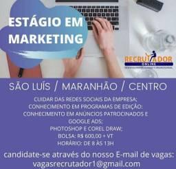 Estágio em marketing