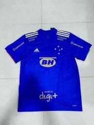Camisa do Cruzeiro - Centenário - Preparada pra jogo!