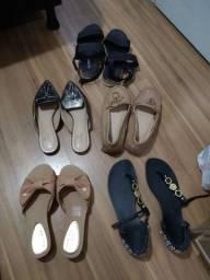 diversos sapatos  tam 35,36 e 37