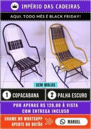 Cadeiras de Balanço - 120,00 (Entrega Incluso)