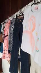 Oportunidade única, mais de 200 peças de roupas infantis. Todas estações