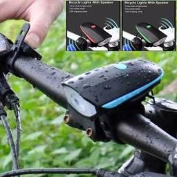 Farol buzina bike recarregável//entrega gratuita