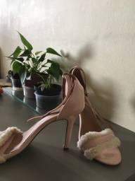 Sandália rosê