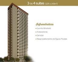 Título do anúncio: Apartamento No Marco, com 3 Suítes 2 garagens
