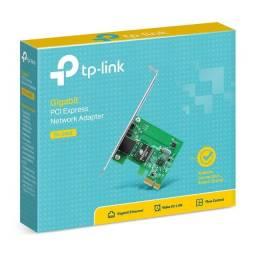 Placa De Rede PCI-E 10/100/1000 TP-Link - TG-3468- Loja Dado Digital