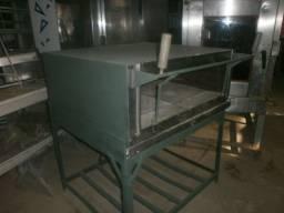 Forno industrial a gás - refratário - medida interna 90x90