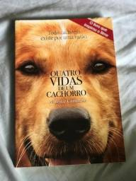 Livro - Quatro vidas de um cachorro