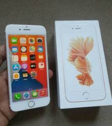 iPhone 6s 32GB Rose Bem Conservado Na Caixa Com Carregador<br>Por 800.00