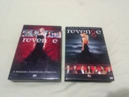 vendo dvds série revange 1 e 2 temporadas completa
