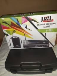 Microfone profissional novo zeradona caixa